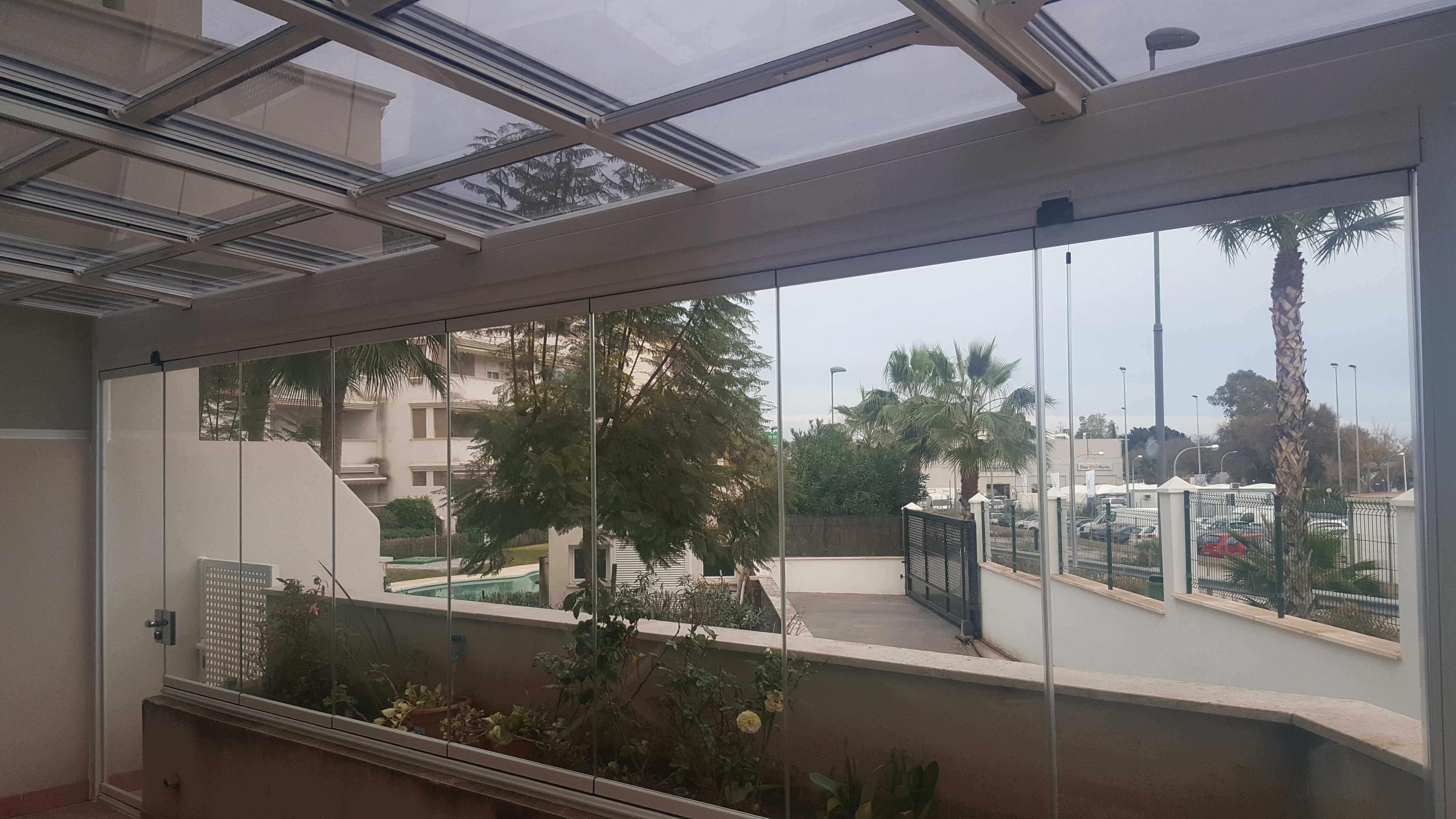 Moderglass las mejores cortinas de cristal en m laga - Cortinas de cristal malaga ...