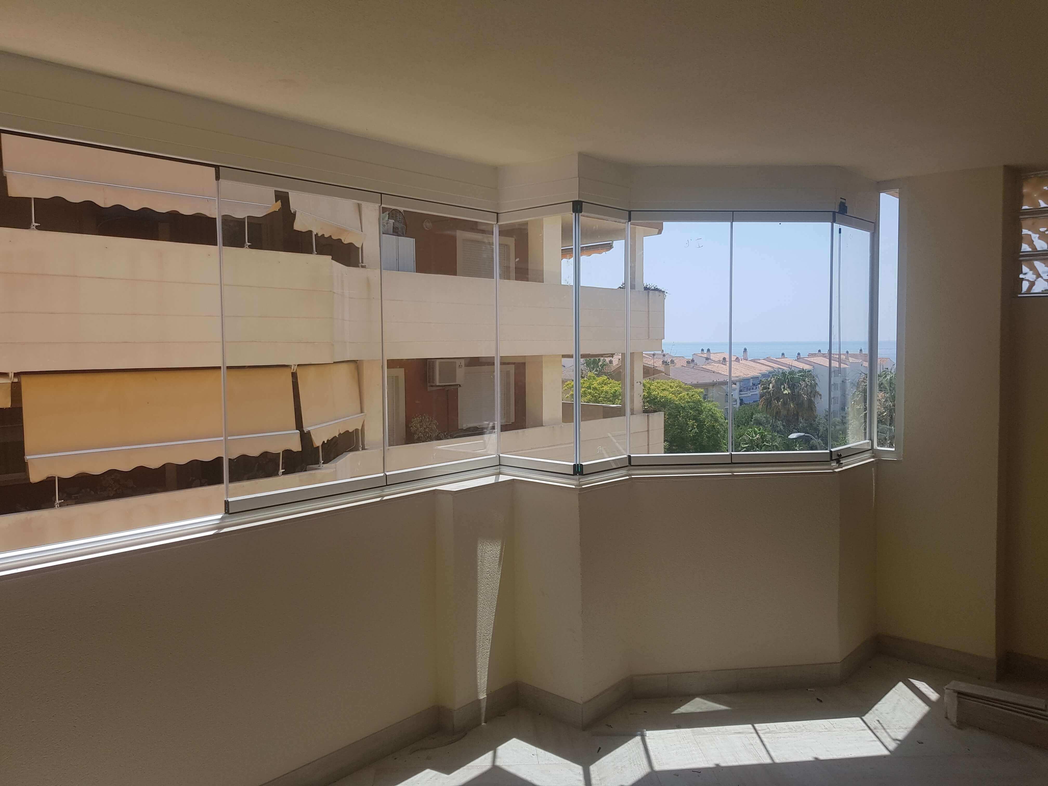 Precios cortinas de cristal cristaleria valencia techos moviles y fijos de aluminio y cristal - Cristal climalit precio ...