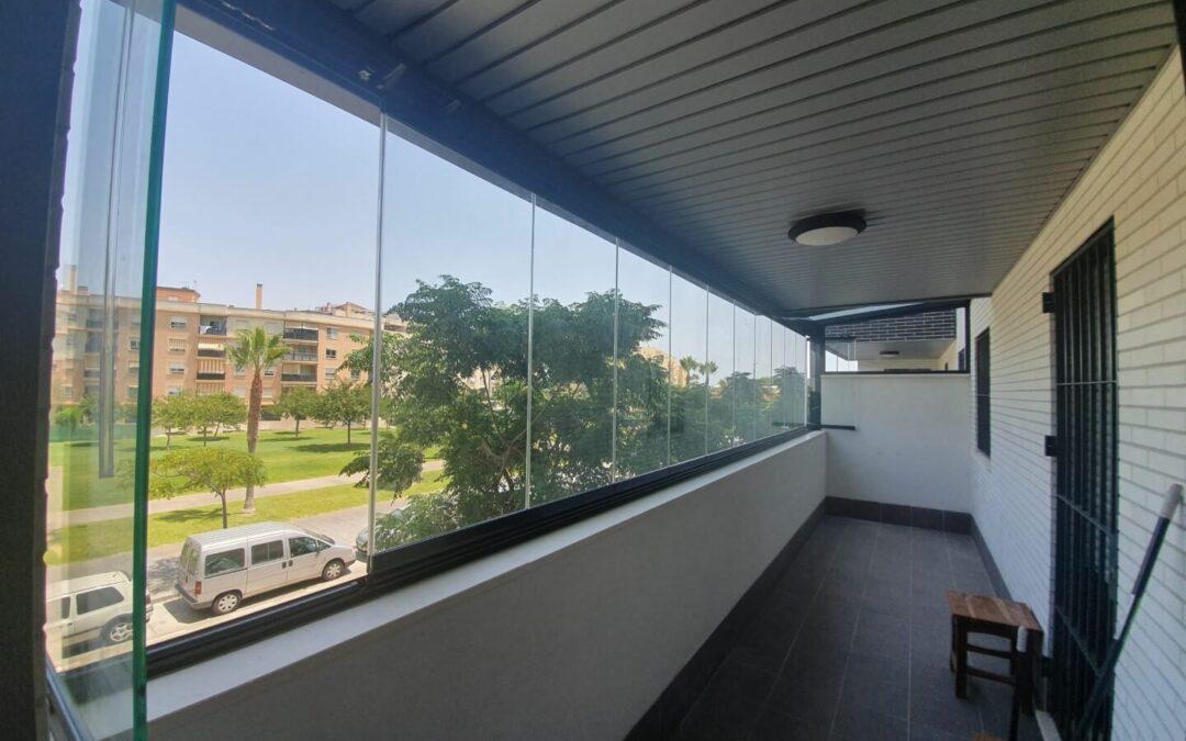 Techo de cristal Calle Unión Mercantil 25, Málaga