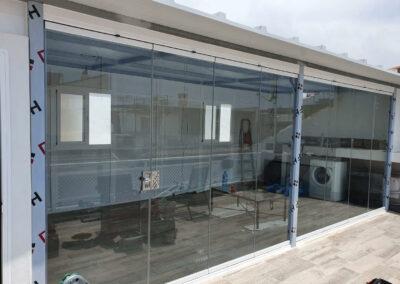 Cortina de Cristal y Panel de Cubiertas Pedregalejo Moderglass